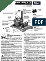 Manual Caldera 200 Doll