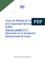OACI SMS Nota 05  (R13-A)
