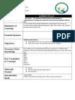 copy of vtft i lesson plan template elp basic lesson