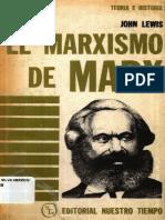 Lewis, John  El-Marxismo de-Marx