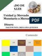 Unidad 3 Mercado Monetario