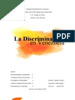 Discriminación en Venezuela