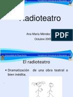 Ppt Radioteatro