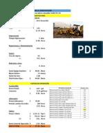 Costos Directos MaquinariA(retroexcavadora)