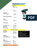 Costos Directos MaquinariA(sapo)