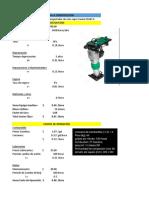 Costos Directos MaquinariA