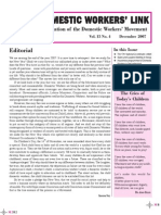 Newsletter - December 2007, NDWM (National Domestic Workers Movement)