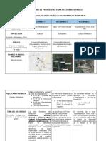 Matriz de diseño de ruta