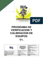 Anexo 2. PROGRAMA DE CALIBRACION DE EQUIPOS