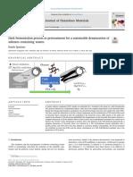Proceso de fermentación oscura como pretratamiento para una desnaturalización sostenible de
