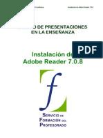 00 Diseño de presentaciones. Instalación de Adobe Reader