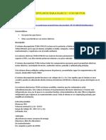 SISTEMA DE PROPULSIÓN ELECTRICO PARA BARCO