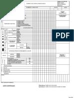 CNL-GININ-F05 Formato Hoja de control Neurologico