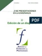 06 Diseño de presentaciones. Edicion de diagramas