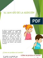 CLASE 4 - EL SENTIDO DE LA AUDICIÓN