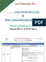 PlanDeAprendizajeEnCasa2doGrado11al15MayoMEX