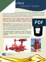 PSC Magnaseal BOP Valve Lubricants/Sealant