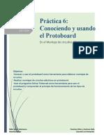 Actividad N° 6 Conociendo y usando el protoboard para realizar montajes de circuitos eléctricos (1)