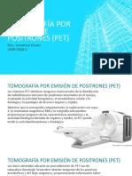 11. Tomografia por Emision de Positrones