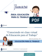 CONOCIENDO MI CLASE VIRTUAL DE EPT 1