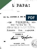 Joseph de Maistre. Del Papa I.pdf