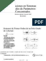 Vibraciones en Sistemas Lineales de Parámetros Concentrados.ppsx