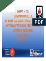 NFPA 15-M1-2012