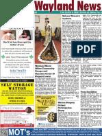 The Wayland News June 2020