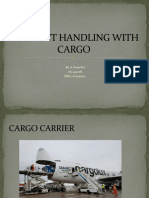 AIRCRAFT HANDLING WITH CARGO SANOFER