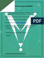MSP Worksheet