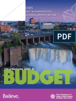 City FY 2020-21 Proposed BUDGET