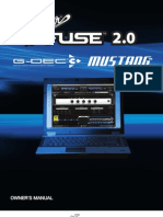 Fender Fuse v2.0 Manual English