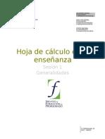 01  Hoja de calculo en la enseñanza. Generalidades