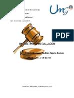 INSTRUCCIONES SEGUNDO PARCIAL. TRABAJO ACADÉMICO(1) (3)