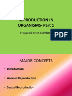 Reproduction in Organisms - part 1