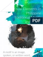 Visual Elements in Philippine Traditional Motifs and Crafts