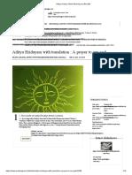 Aditya Hridaya Stotra Meaning and Benefits.pdf