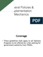 Level5 Diploma - Implementation Mechanics & Application Requirements