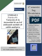 P1 - Variación de la intensidad de un led