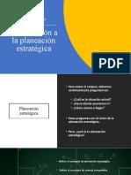 1.1. Introducción a la planeación estratégica (1)