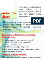 The-Personal-Reflective-Essay