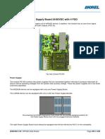 HIPASE-E 004-PS-500 Power Supply Board