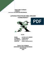 Laporan Kimia Organik - Karbohidrat