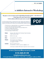 Sexual Recovery Institute Partner Workshop - Feb 24-26, 2011