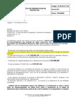 3. CARTA DE PRESENTACION YAGUARA