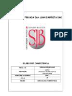 SILABO DE GINECO-OBSTETRICIA 2020-I