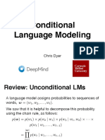 Lecture 7 - Conditional Language Modeling