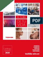 202005 Toshiba Aire Catálogo General 2020