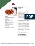 Bofrost* Rezepte - Chicken-Chili