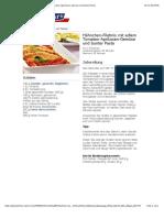 bofrost* Rezepte - Hähnchen-Filetinis mit edlem Tomaten-Aprikosen-Gemüse und bunter Pasta